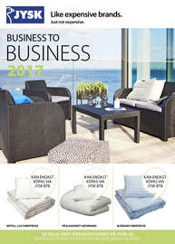 Jysk Business to business 2017