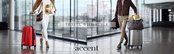 Erbjudanden från Accent, Travel with style!